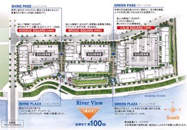 アクアテラ(TOKYO100�u計画:足立区新築分譲マンション)